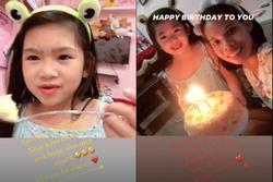 Con gái Mai Phương nói câu xúc động ngày sinh nhật bảo mẫu