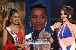 7 Hoa hậu Hoàn vũ ứng xử hay nhất: Nổi da gà với cô gái da màu