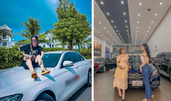 Hội hot girl tài chính sống ảo là chính: Hết khoe body đến show hình bên ô tô-2