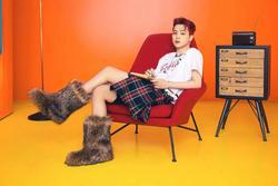 Nam ca sĩ Hàn Quốc mặc váy, ngày càng nữ tính