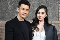 Angela Baby lẻ bóng đi mua nhà, Huỳnh Hiểu Minh về quê vắng vợ con