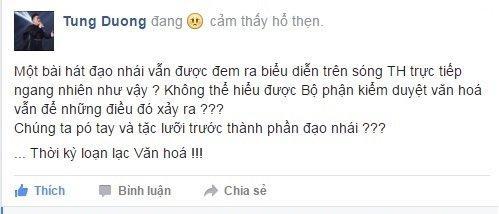 Netizen rối não khi Tùng Dương nay chê mai khen Sơn Tùng-1