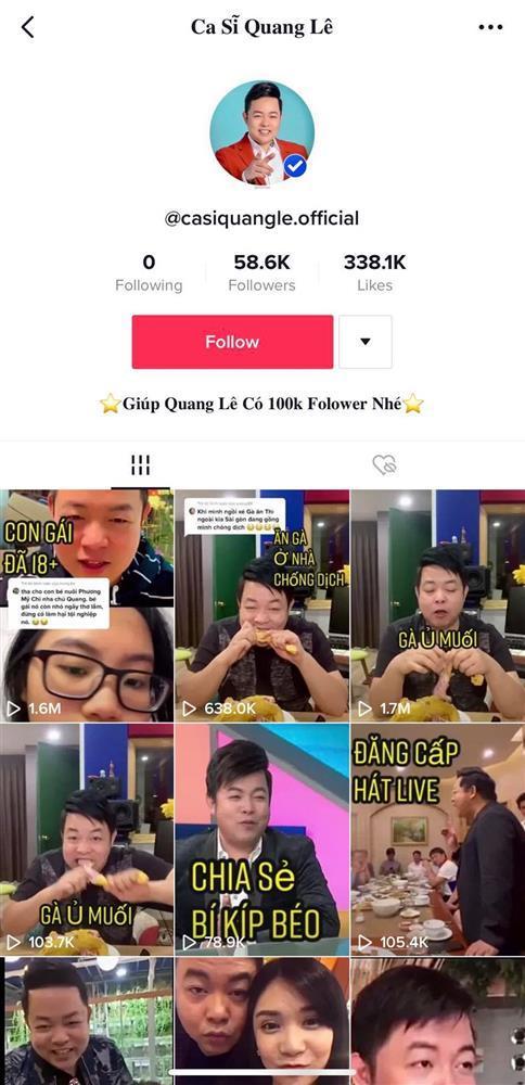 Quang Lê nổi đóa khi clip suồng sã Ngân 98 xuất hiện