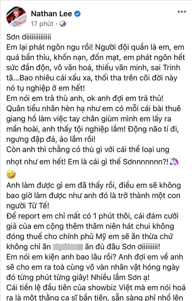 Cao Thái Sơn nói về vụ Khắc Việt ăn mì cầm hơi vì bị ép giá 1 triệu xuống 500k-3