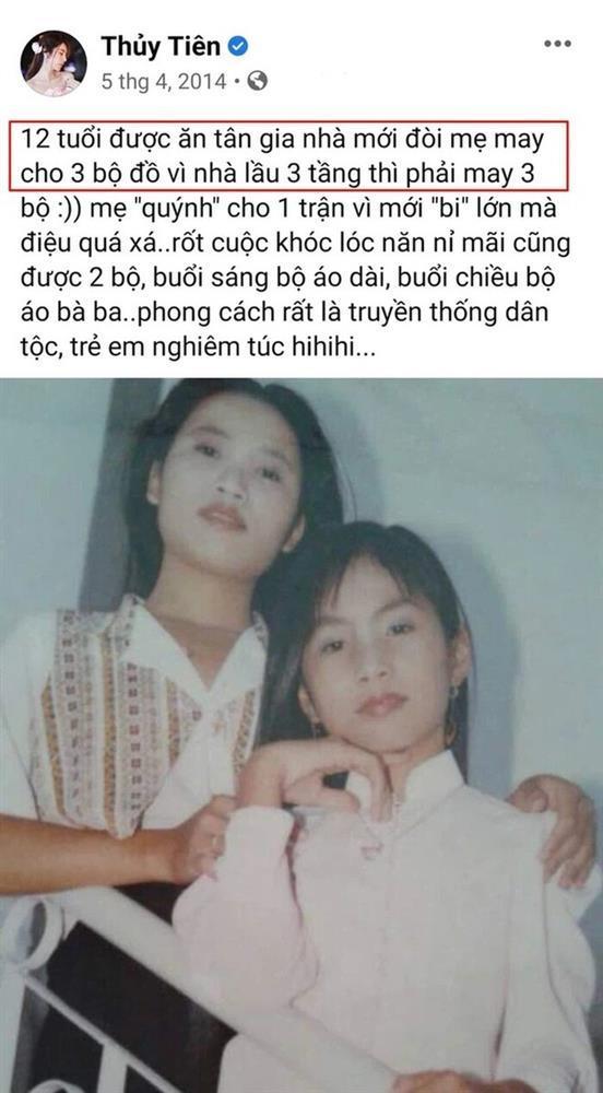 Thủy Tiên khoe 12 tuổi có nhà 3 tầng nhưng lên truyền hình kể tuổi thơ nghèo khó-2