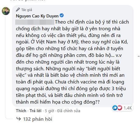 MC Nguyễn Cao Kỳ Duyên bị khán giả mắng giỏi trốn Covid-19-8