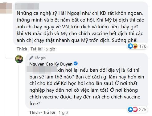 MC Nguyễn Cao Kỳ Duyên bị khán giả mắng giỏi trốn Covid-19-4