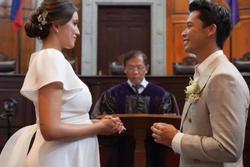 Hoa hậu Hoàn vũ Philippines kết hôn với Thống đốc trẻ có gia thế khủng