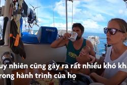 Gia đình sống trên thuyền suốt 10 năm, du lịch 45 nước