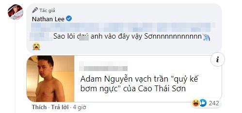 Nói Nathan Lee ngực silicon, Cao Thái Sơn bị đào zĩ zãng-2