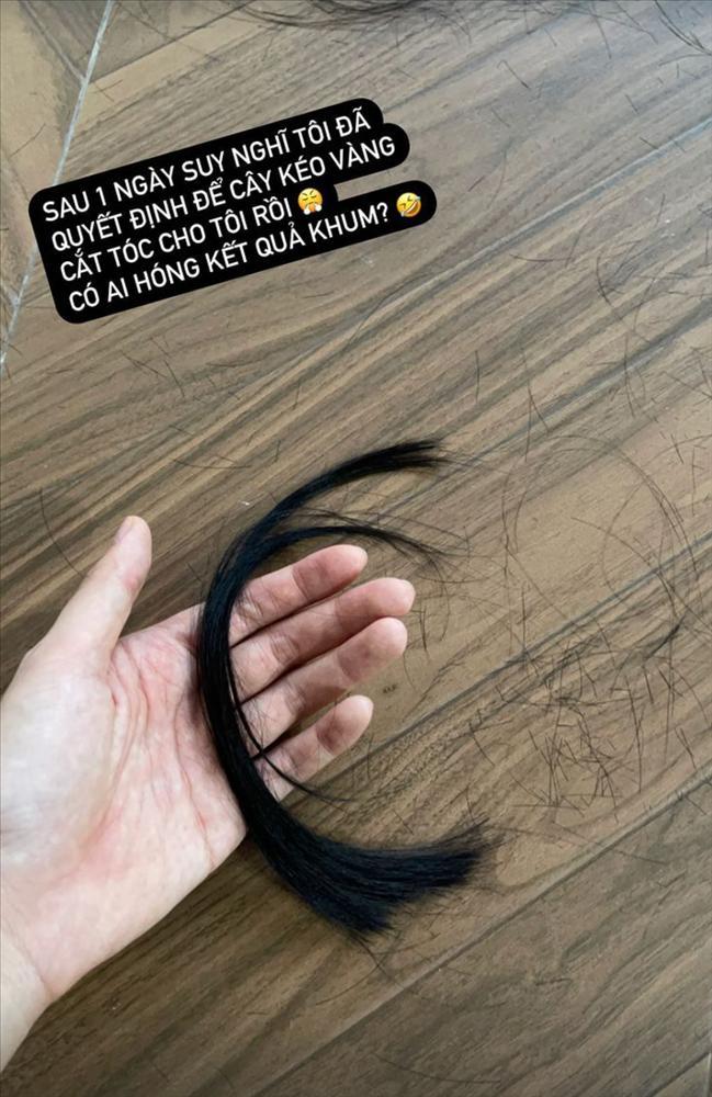 Kỳ Duyên nhờ Minh Triệu cắt tóc, lộ bằng chứng sống chung?-4