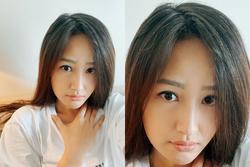 Mai Phương Thúy tóc bạc đầy đầu ở tuổi 33