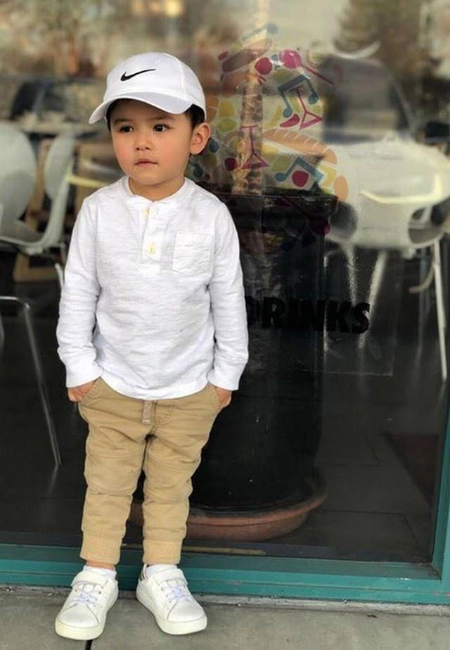 Con trai Đan Trường 4 tuổi sở hữu công ty riêng, mặc toàn hàng hiệu-4