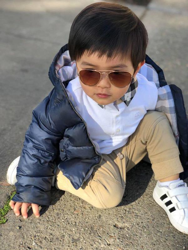 Con trai Đan Trường 4 tuổi sở hữu công ty riêng, mặc toàn hàng hiệu-6