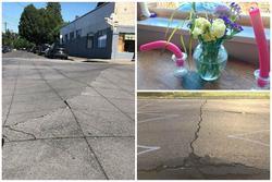 Nắng nóng kỷ lục ở Bắc Mỹ: Nhà cửa cong vẹo, đường xá nứt toác