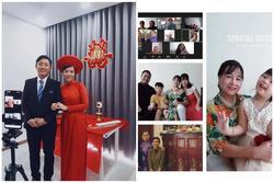 Đám cưới mùa dịch: Tổ chức trên ứng dụng Zoom, hai họ tham dự online