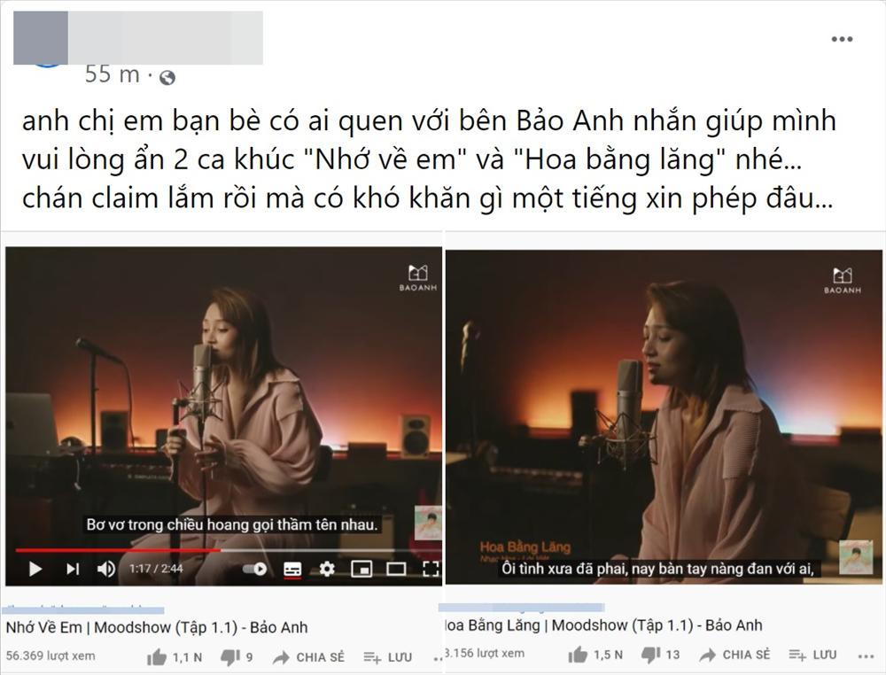 Bảo Anh cover nhạc Jimmii Nguyễn không xin phép