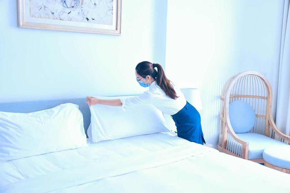 Cận cảnh khách sạn 5 sao cách ly miễn phí cho người Đà Nẵng về từ vùng dịch-7