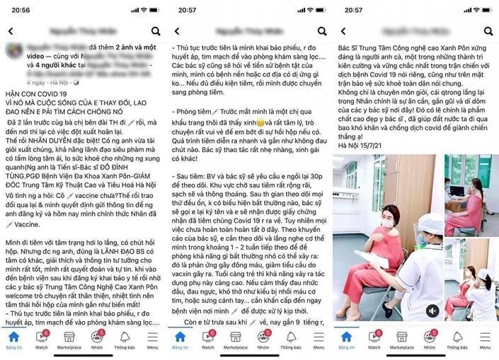 Hà Nội yêu cầu làm rõ Á hậu được người anh đặc cách tiêm vaccine Covid-19-1
