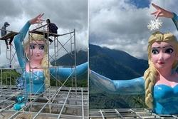 Tạm dừng hoạt động cơ sở xây dựng công trình Elsa phiên bản 'đột biến' ở Sa Pa