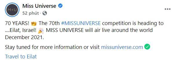 Miss Universe bẻ lái địa điểm, Kim Duyên thi ở Israel-1