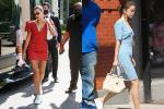 Gu yêu giống nhau, Hailey Bieber - Selena Gomez còn chung gu ăn mặc