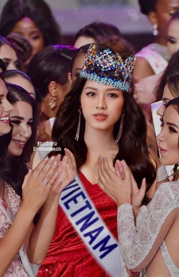 Đỗ Thị Hà chưa thi Hoa hậu Thế giới 2021 đã có ảnh đăng quang-1