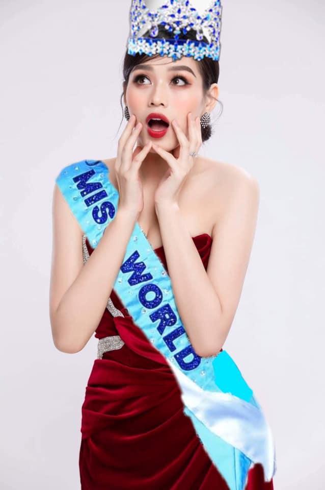 Đỗ Thị Hà chưa thi Hoa hậu Thế giới 2021 đã có ảnh đăng quang-2