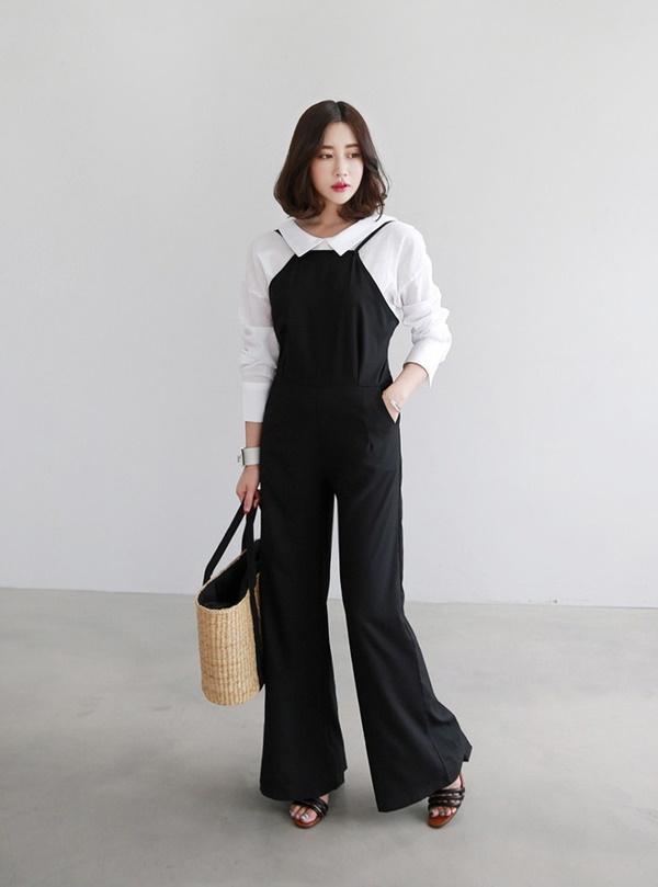 Cách phối đồ với trang phục đen, vừa sang chảnh vừa không lo lỗi mốt-4