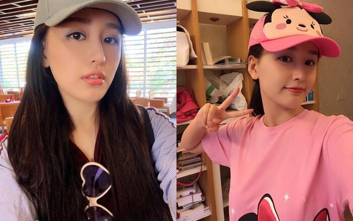 Hoa hậu Mai Phương Thúy up ảnh thời trẻ trâu mặc áo rộng, đội mũ snapback-3
