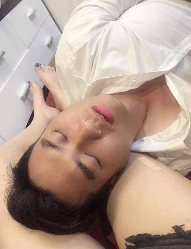 Andrea Aybar bị xóc xiểm khi đăng ảnh Phạm Anh Tuấn ngủ trên đùi-5