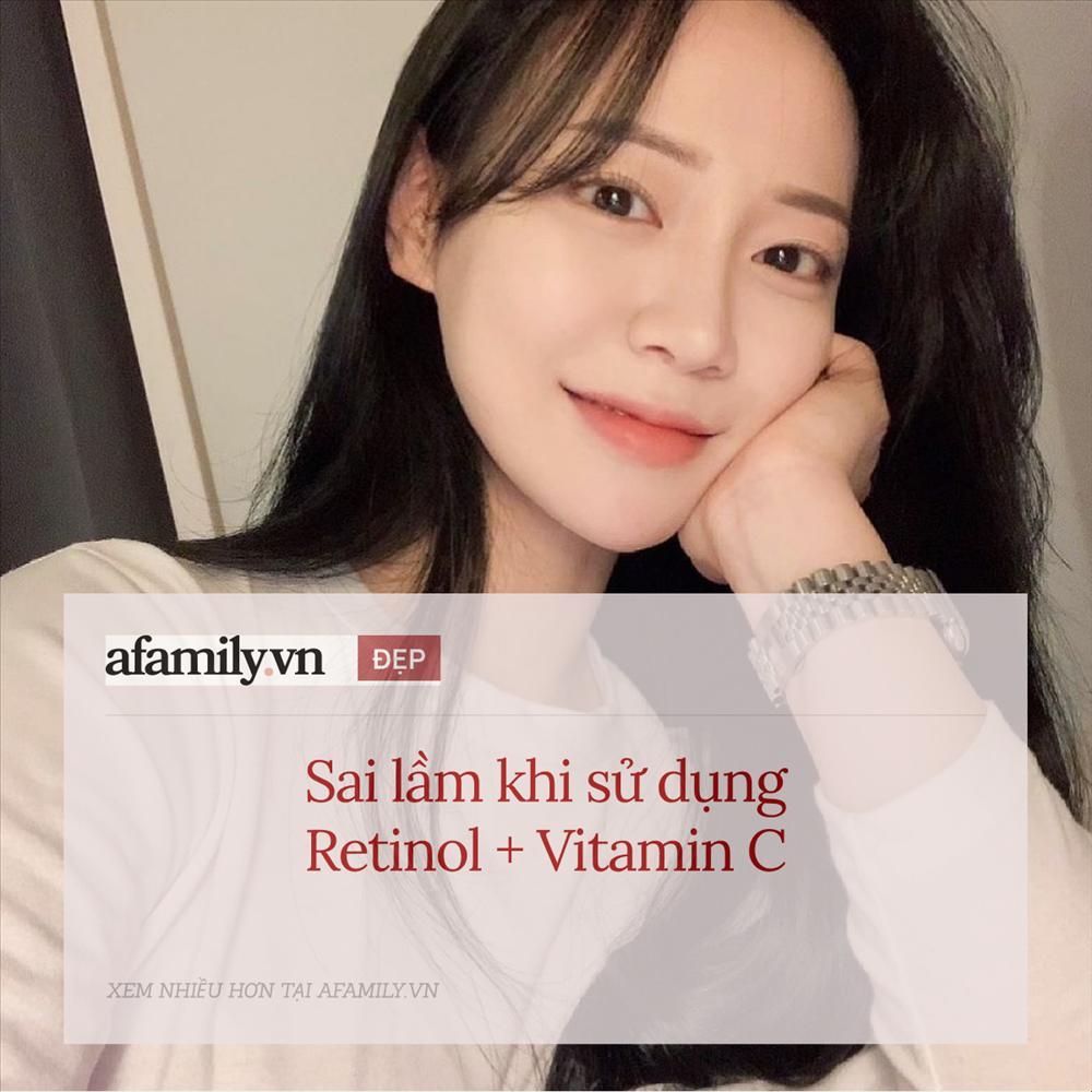 5 sai lầm khi sử dụng retinol và vitamin C khiến da sạm nám và lão hóa-1
