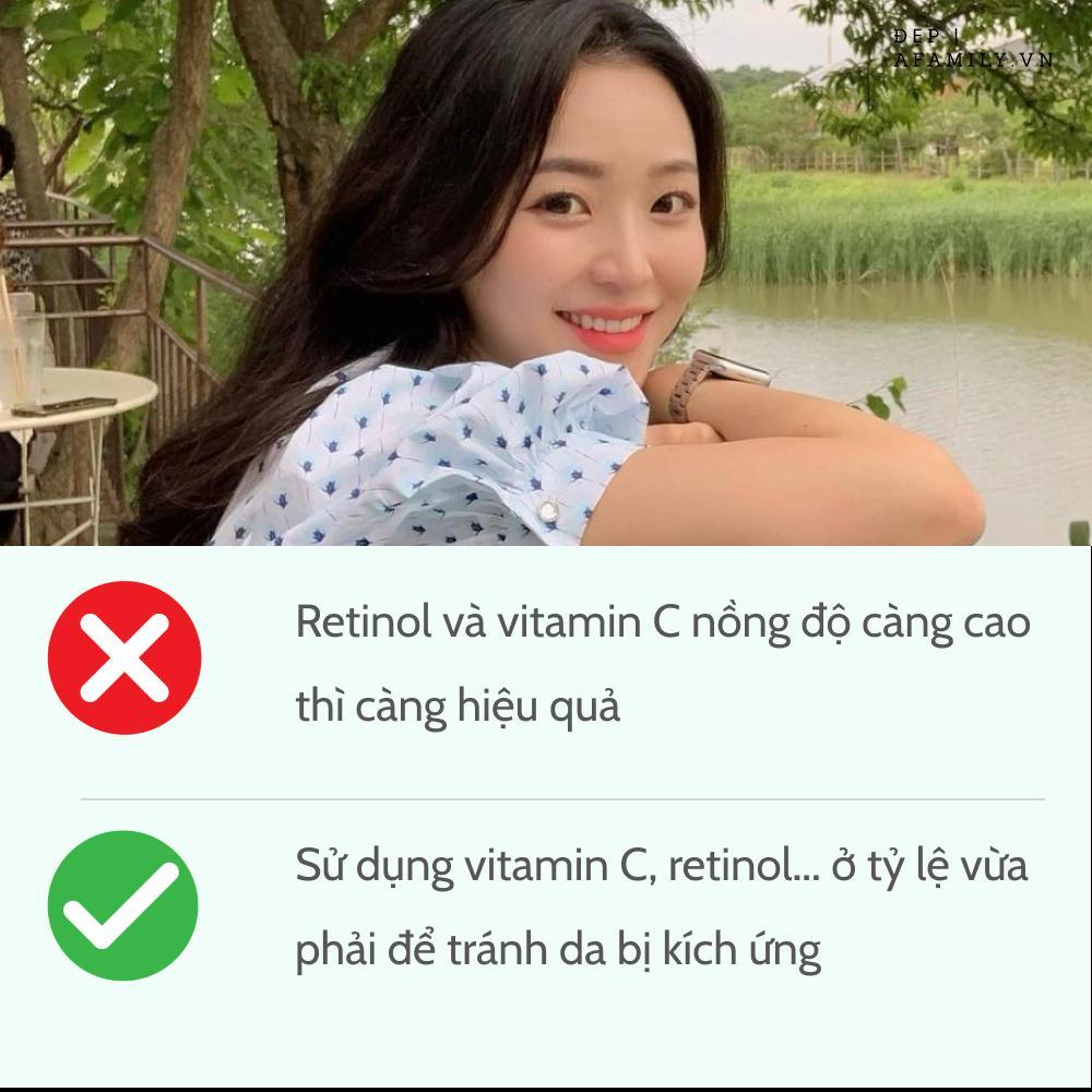 5 sai lầm khi sử dụng retinol và vitamin C khiến da sạm nám và lão hóa-3