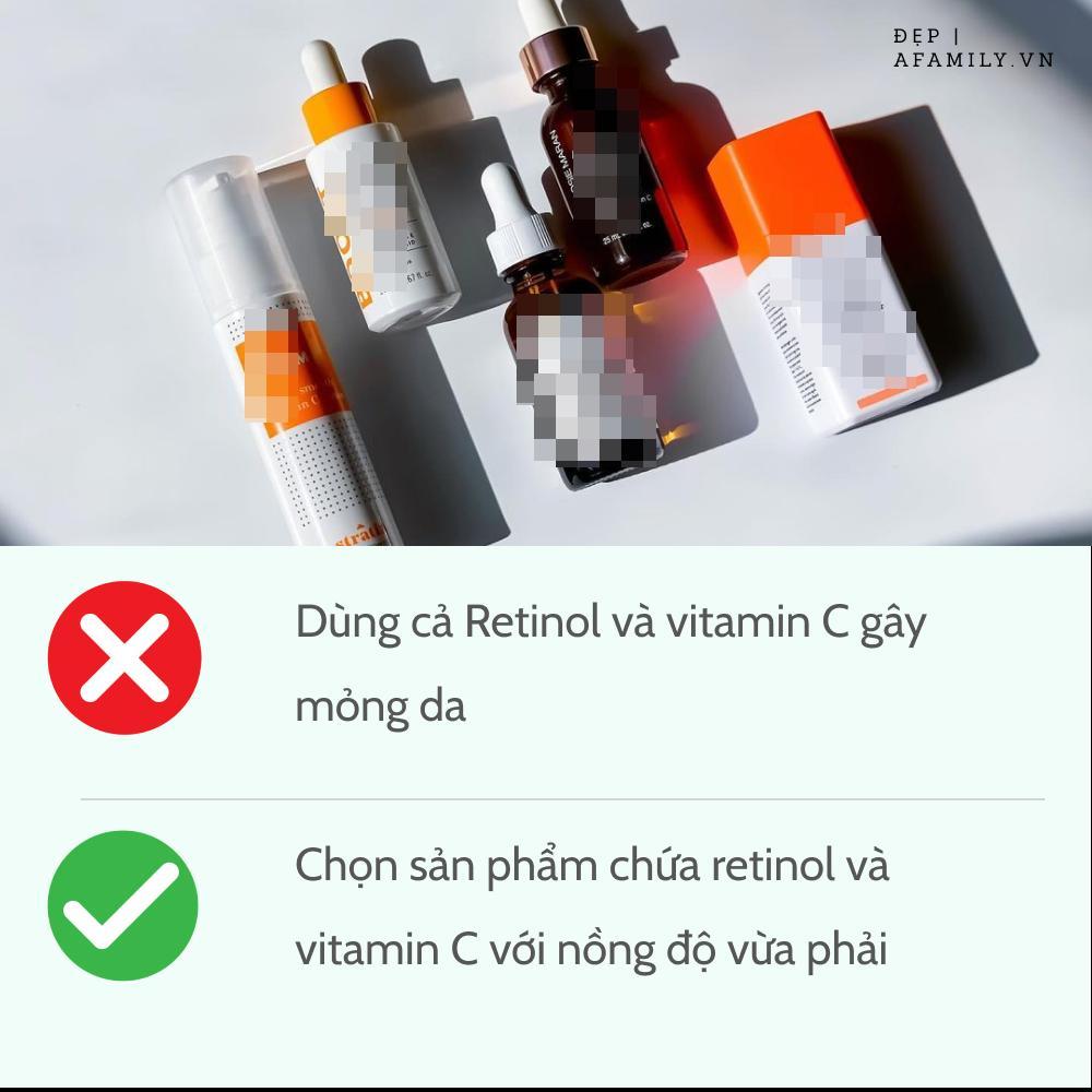 5 sai lầm khi sử dụng retinol và vitamin C khiến da sạm nám và lão hóa-4