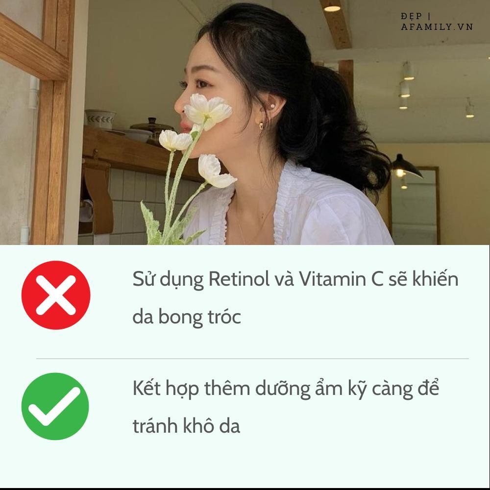 5 sai lầm khi sử dụng retinol và vitamin C khiến da sạm nám và lão hóa-5