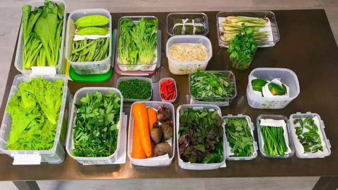 Mẹo giữ rau tươi xanh dù cất trữ trong tủ lạnh cả tuần-1