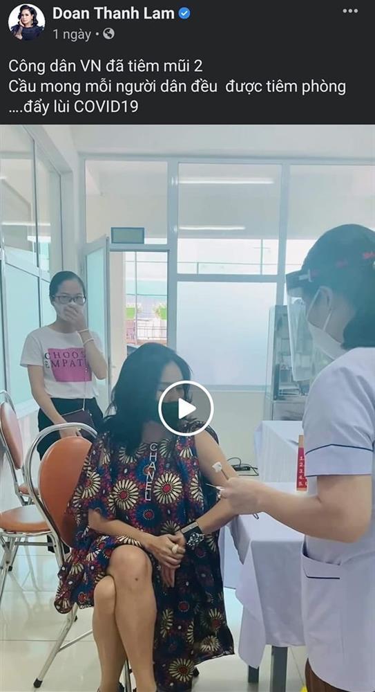 Thanh Lam làm rõ clip tiêm vaccine Covid-19 đang bị chỉ trích-1