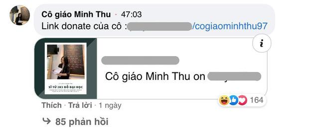 Cô giáo Minh Thu bị lập group anti vì nhận donate của học sinh-4