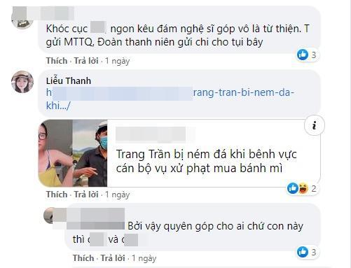 Trang Trần uất ức vì từ thiện bị chà đạp, antifan chốt: Oan Thị Mầu-3