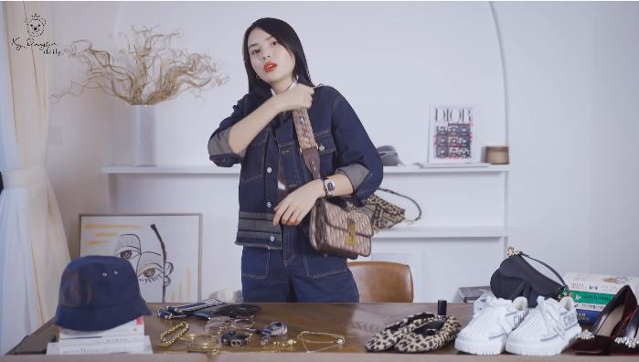 Lóa mắt tủ đồ Dior nửa tỷ của Hoa hậu Kỳ Duyên-3