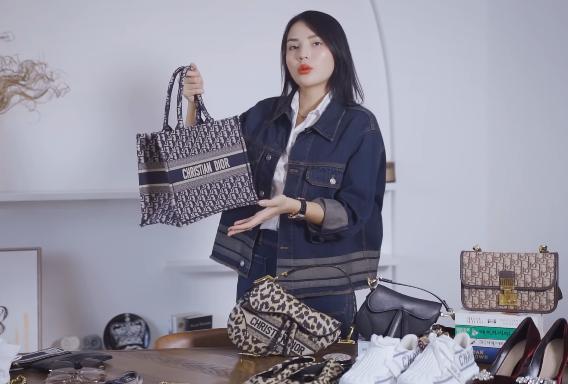 Lóa mắt tủ đồ Dior nửa tỷ của Hoa hậu Kỳ Duyên-12