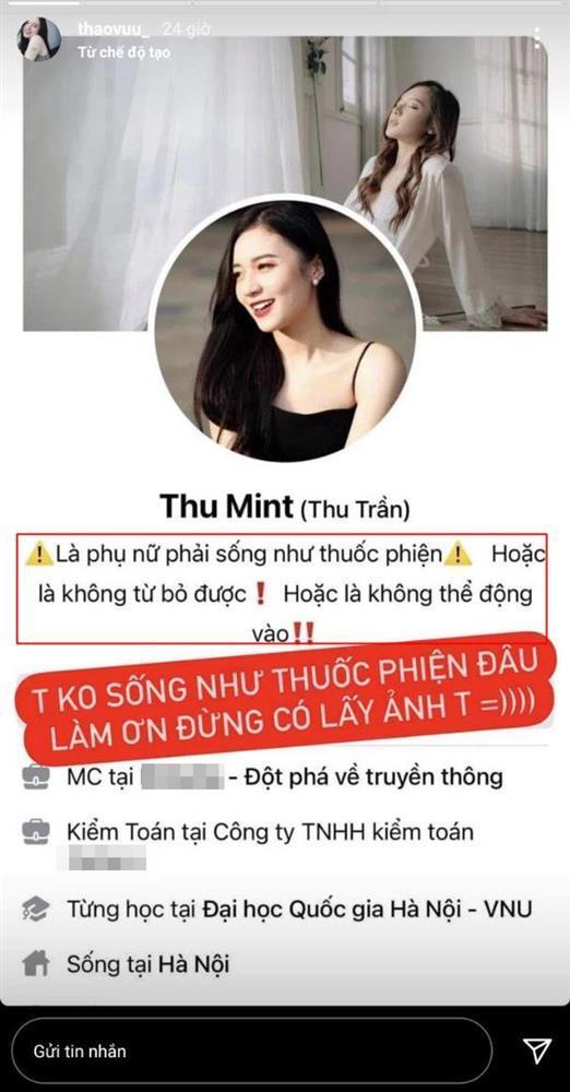 MC trẻ nhất VTV bị lan truyền avatar hãy sống như thuốc phiện-1