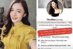MC trẻ nhất VTV bị lan truyền avatar 'hãy sống như thuốc phiện'