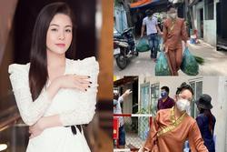 Nhật Kim Anh bị móc mỉa 'từ thiện bỏ túi riêng' mùa dịch