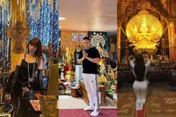 Loạt sao Việt bị chỉ trích vì tạo dáng phản cảm chốn linh thiêng