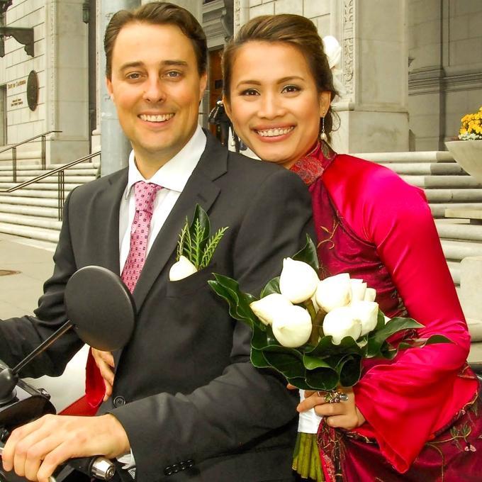 Hôn nhân của hoa hậu Ngọc Khánh và chồng Tây-1