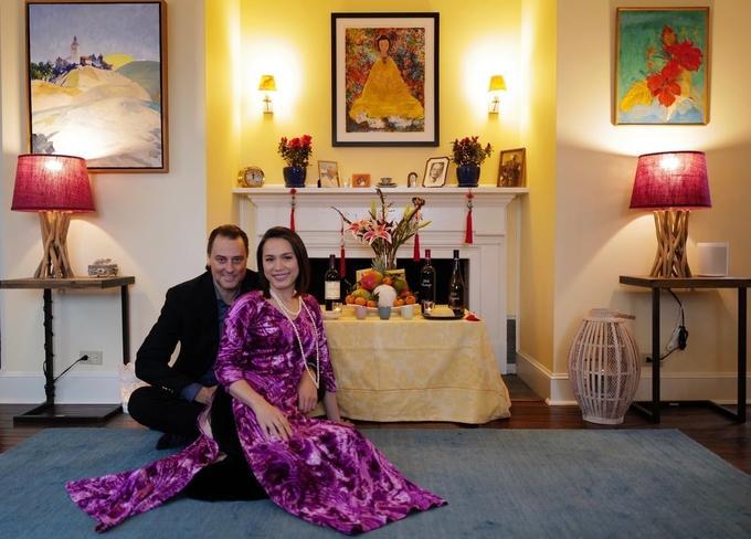 Hôn nhân của hoa hậu Ngọc Khánh và chồng Tây-4