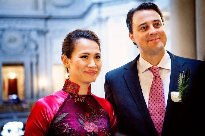 Hôn nhân của hoa hậu Ngọc Khánh và chồng Tây-7