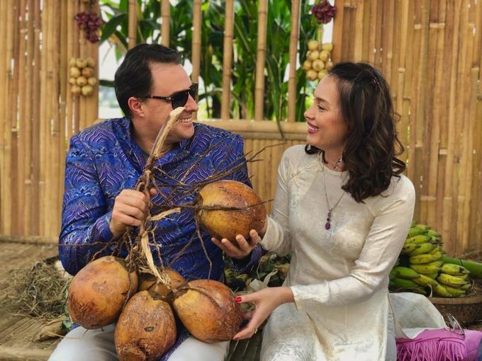 Hôn nhân của hoa hậu Ngọc Khánh và chồng Tây-9