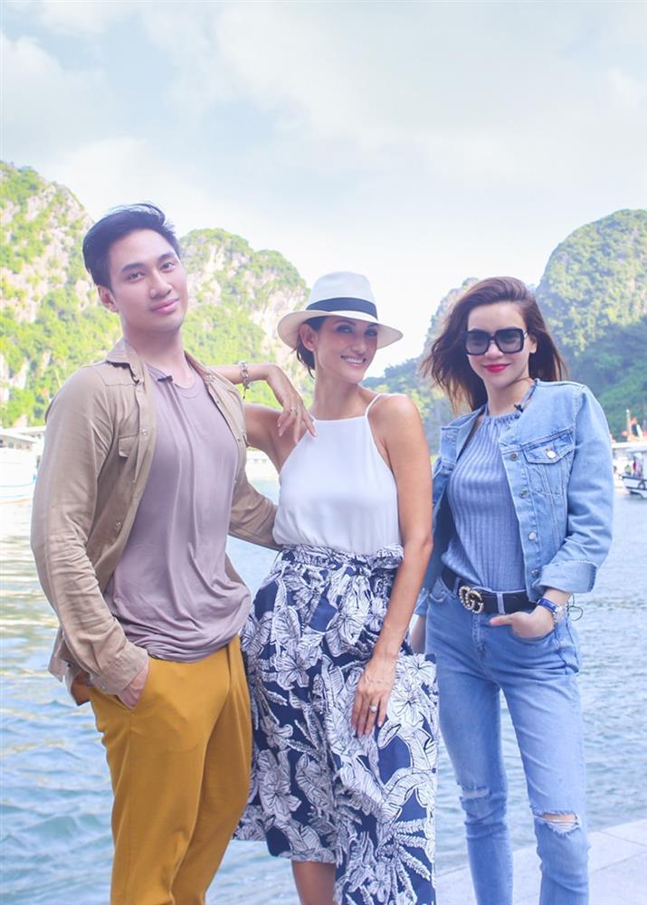 Hồ Ngọc Hà 2 lần đọ sắc Hoa hậu Thái Lan: Không chặt được ai-2